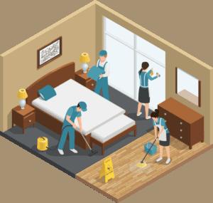 routine housekeeping
